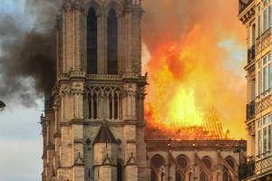 Pożar katedry Notre Dame w Paryżu [AKTUALIZACJA]