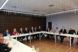 Posiedzenie Konwentu Powiatów Województwa Warmińsko-Mazurskiego