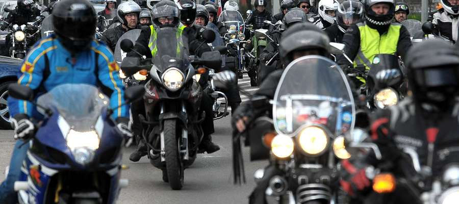 Ubiegłoroczna parada motocykli w Elblągu