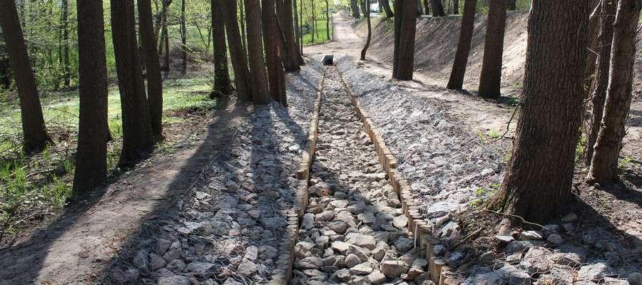 Budowa kanalizacji deszczowej w Słupach