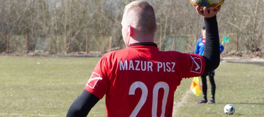 Mazur Pisz trenuje z rywalami z wyższych lig. Pomoże to w walce o punkty w a-klasie?