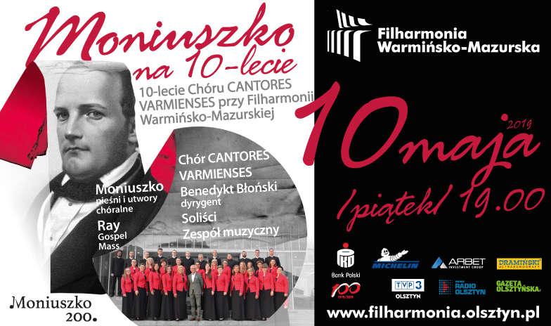 Moniuszko na X-lecie – uroczysty koncert w Filharmonii  - full image