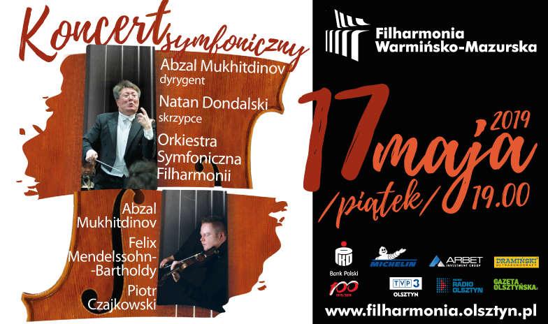 Koncert symfoniczny 17.05, godz.19.00  - full image