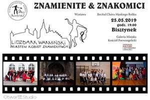 Recital chóru Rolika i wystawa fotografii kobiet znamienitych