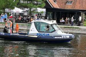 Policja na wodzie już czuwa