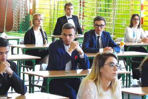 Ruszyły matury z Zespole Szkół Zawodowych w Kurzętniku