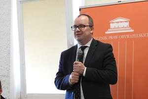 Mieszkańcy powiatu bartoszyckiego spotkali się z Rzecznikim Praw Obywatelskich Adamem Bodnarem