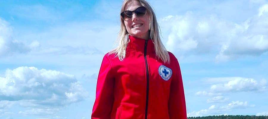 Michaela Rutkowska jest ratowniczką od trzech lat.