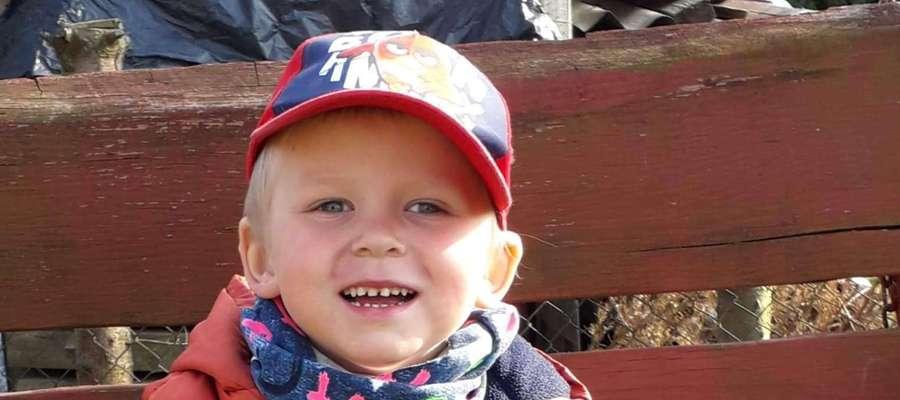 Marcel Nowozycki, 4 lata, Sępopol. SMS o treści GB.MKE.4 na numer 7248 (Koszt 2,46 zł z VAT za SMS)