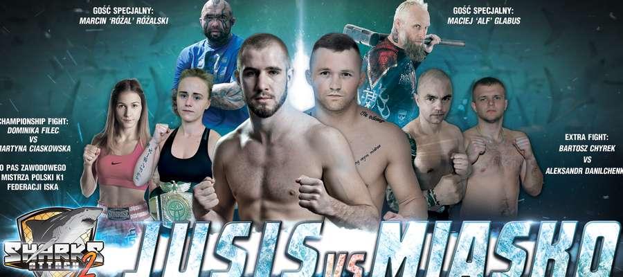 Pięcioro ostródzian wystąpi w GSW Sharks Attack 2