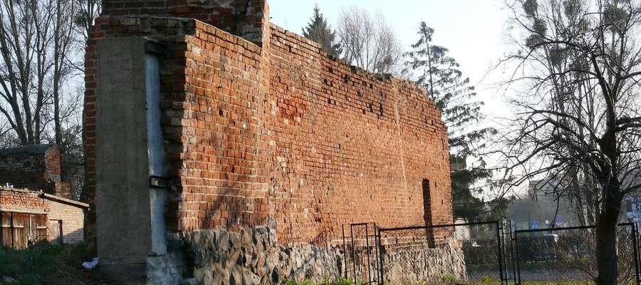 Mury obronne w Pasłęku