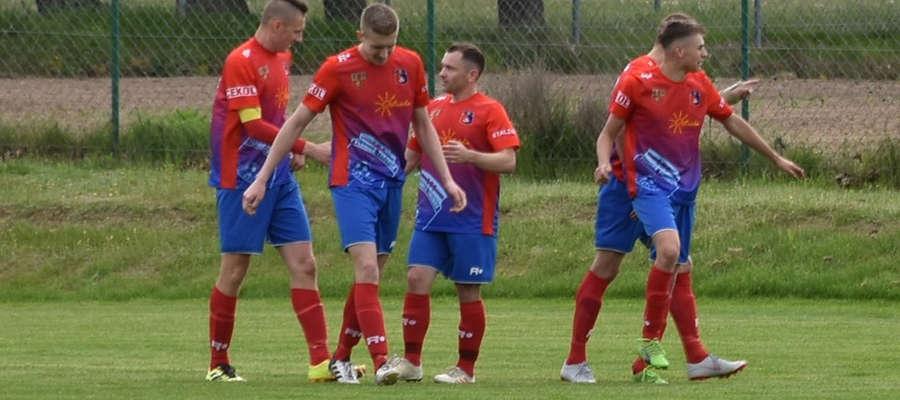 Piłkarze Płomienia Turznica cztery razy mieli okazję cieszyć się po zdobytych golach
