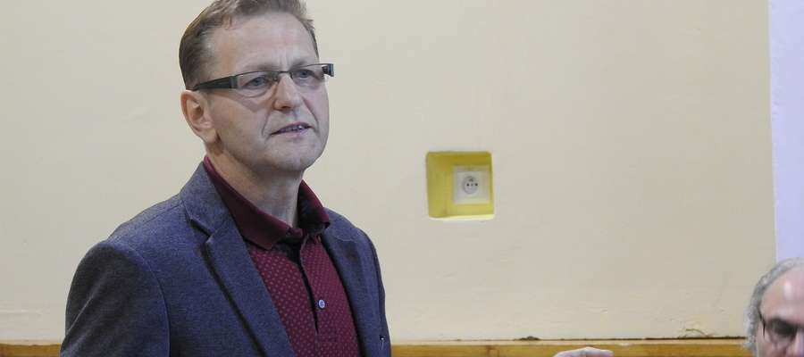 Stanisław Dąbrowski jest nowym prezesem oddziału ZNP w Bartoszycach.