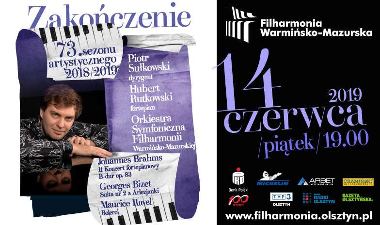 Koncert zamykający 73. sezon artystyczny Filharmonii Warmińsko-Mazurskiej - full image