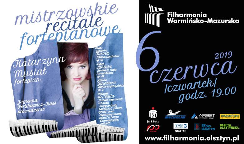 Katarzyna Musiał — mistrzowski recital fortepianowy - full image
