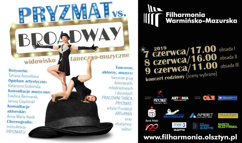 Widowisko taneczne pt. PRYZMAT vs. BROADWAY - full image
