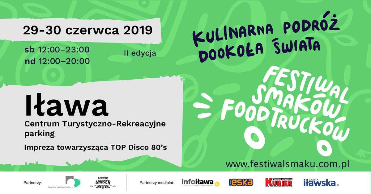 II Festiwal Smaków Food Trucków w Iławie - full image