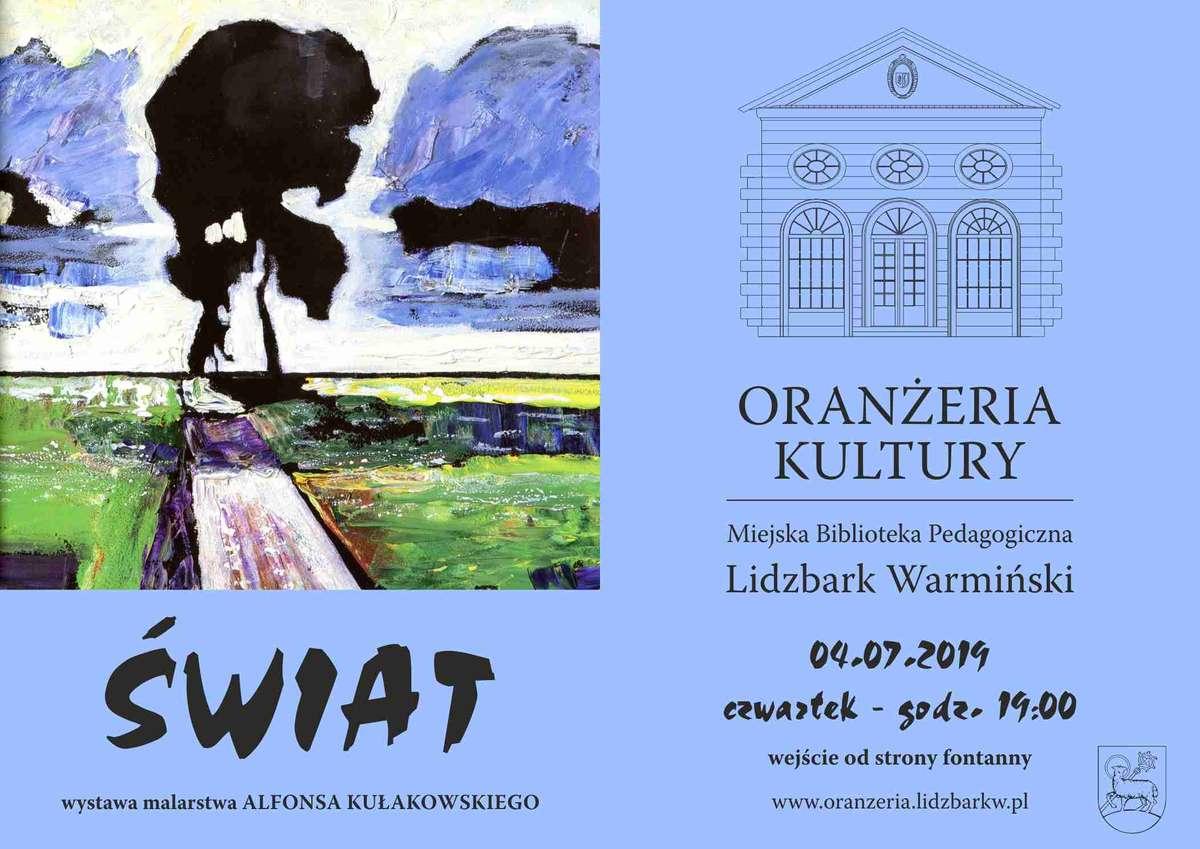 Wystawa Alfonsa Kułakowskiego - full image