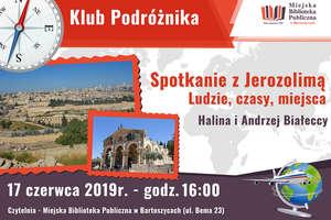O Jerozolimie w Klubie Podróżnika