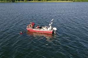 Odnaleziono ciało zaginionego mężczyzny w jeziorze Szkotowskim