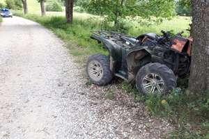 Tragedia na drodze szutrowej. Zginął 27-letni kierowca quada