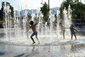 Cena kąpieli w fontannie