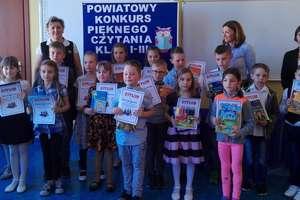 Pięknie czytali w szkole w Tereszewie
