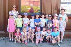 Wycieczka przedszkolaków do Torunia