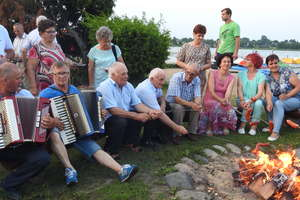 Nasi emeryci już powitali lato w Ostaszewie [ZDJĘCIA]