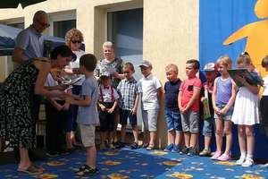 Sześciolatki pożegnały przedszkole