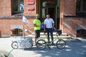 Na 43-letnim rowerze przez Polskę