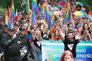 Pierwszy Olsztyński Marsz Równości już za nami! [ZDJĘCIA, VIDEO, AKTUALIZACJA]
