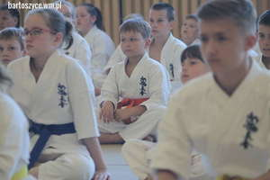 Czerwiec to u karateków tradycyjne podsumowanie sezonu oraz egzamin na wyższe stopnie