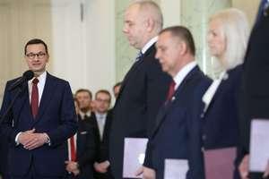 Mamy nowych ministrów. Poznaliśmy skład zrekonstruowanego rządu Mateusza Morawieckiego