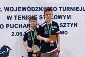 Dawid i Artur na podium 60. Finału Turnieju LZS