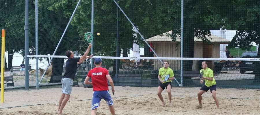 Tenis plażowy w CRS Ukiel