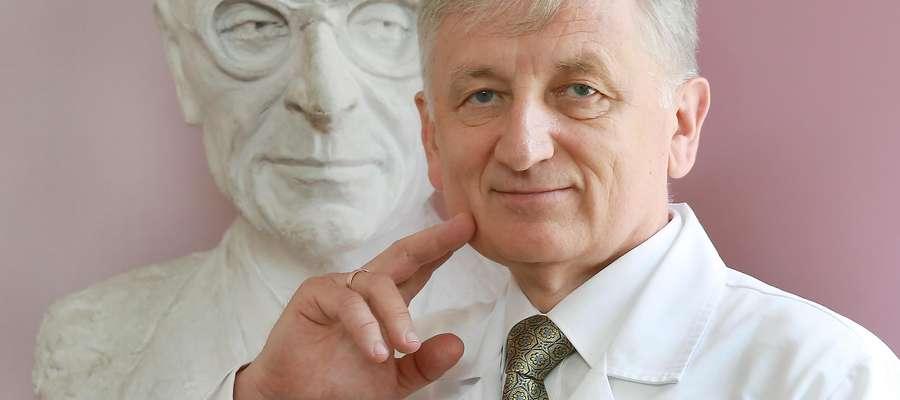 Dr n. med. Zbigniew Purpurowicz, koordynator Kliniki Urologii i Onkologii Urologicznej MSZ w Olsztynie