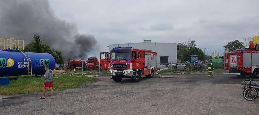 Pożar wybuchł przed godziną szóstą rano