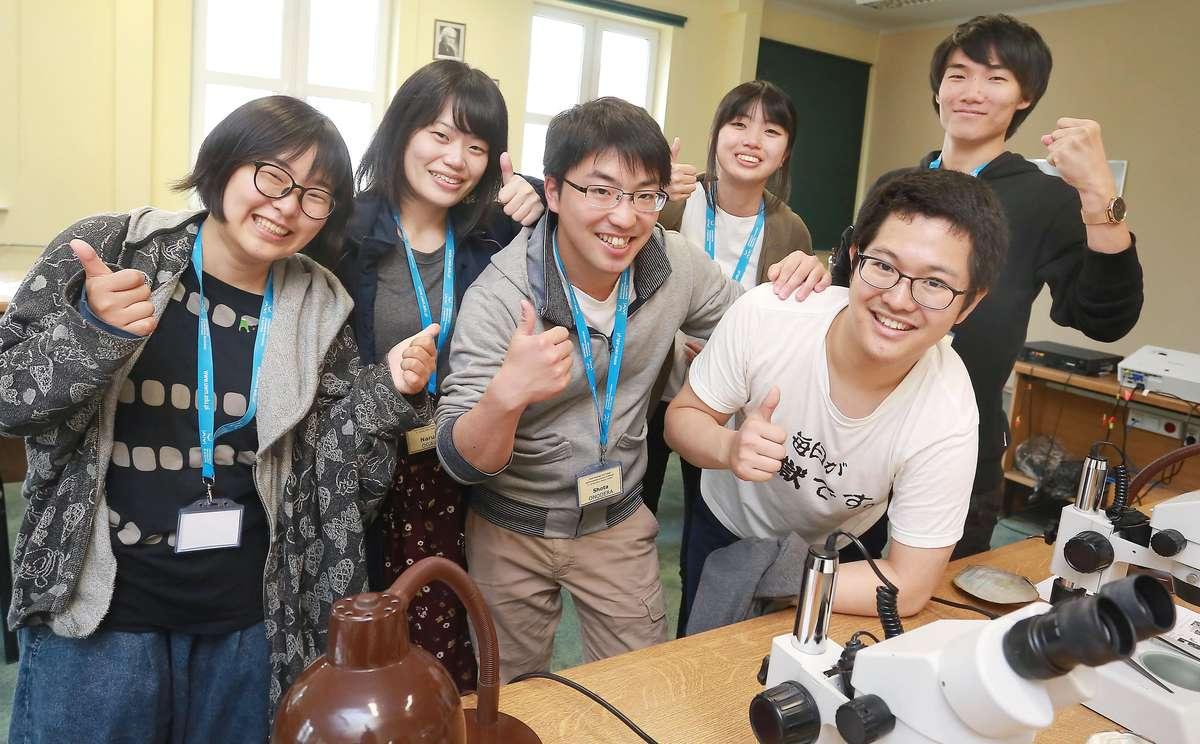 Studenci z Japonii na UWM