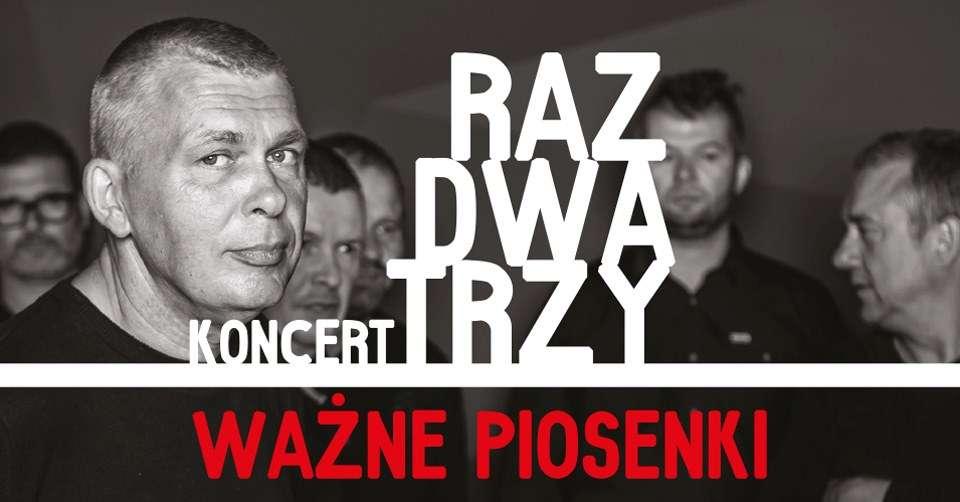 Weekend w Praniu.  W sobotę zagra zespół Raz Dwa Trzy  - full image