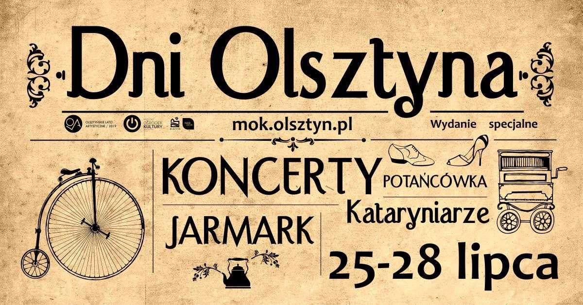 Dni Olsztyna: koncerty, jarmark i kataryniarze - full image