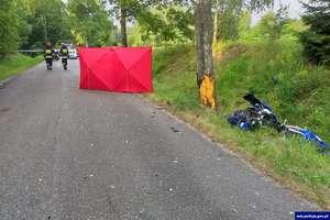 Kolejna tragedia na drodze. Nie żyje 32-letni motocyklista