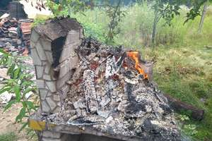 Porządki na działce to nie spalanie odpadów!