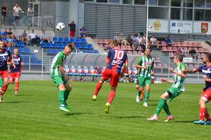 Piłkarze Sokoła Ostróda wysoko wygrali z Motorem Lubawa [zdjęcia]
