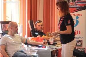 Krwiodawcy w Mundurach przeprowadzili kolejną akcję poboru krwi