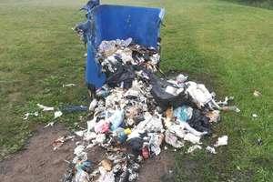 Podpalacz kontenerów na śmieci zatrzymany