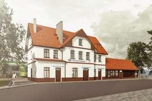 Remont dworca PKP w Suszu – wyłoniono wykonawcę i zwiększono budżet inwestycji