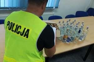 Kryminalni zabezpieczyli alkohol bez akcyzy