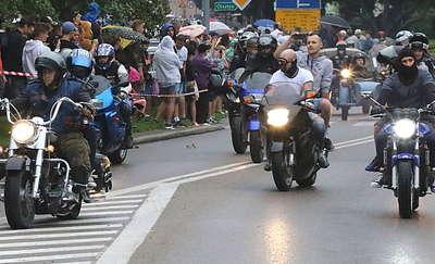 Zlot i parada motocyklistów