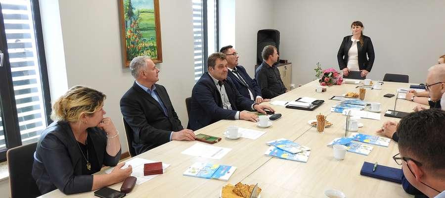 Zdjęcie z ostatniego posiedzenia Rady Powiatowej WMIR w Bartoszycach V kadencji.